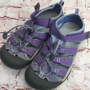 Kid's Keen Comfort Hicking Sandals Purple Size 4